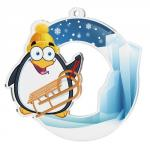 Pinguins Acrylmedaille MDA003M05